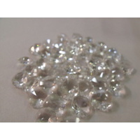 100 CHANDELIER CLEAR PART JOINS STRANDS CHAINS CRYSTALS OCTAGONS  14mm 2 HOLE