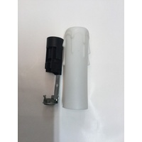 E14 LAMP HOLDER with candle cover SOCKET CHANDELIER ATTACHMENT ELECTRICAL PART