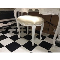 FRENCH PROVINCIAL LOUIS XV CHAIRS ARM BEDROOM DRESSING TABLE STOOL CHAIR PIANO
