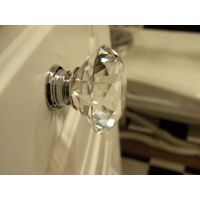 Crystal Glass Drawer Knobs